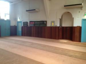 Moskee Othman binnen