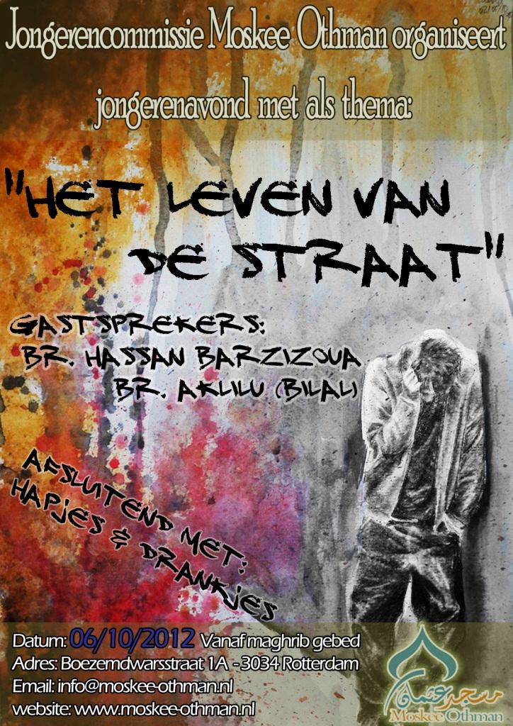 Jongerenavond: Het leven van de Straat!