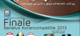 FINALE: Benelux Korancompetitie 2013