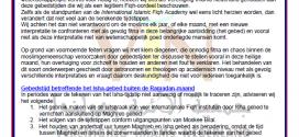 Verklaring omtrent tijdstip van Isha, Fajr en Imsaak in Nederland – بيان بالهولندية حول وقت صلاة العشاء والصبح والإمساك في رمضان 1436