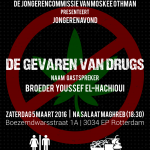 Jongerenavond - 03/2016 - De gevaren van drugs