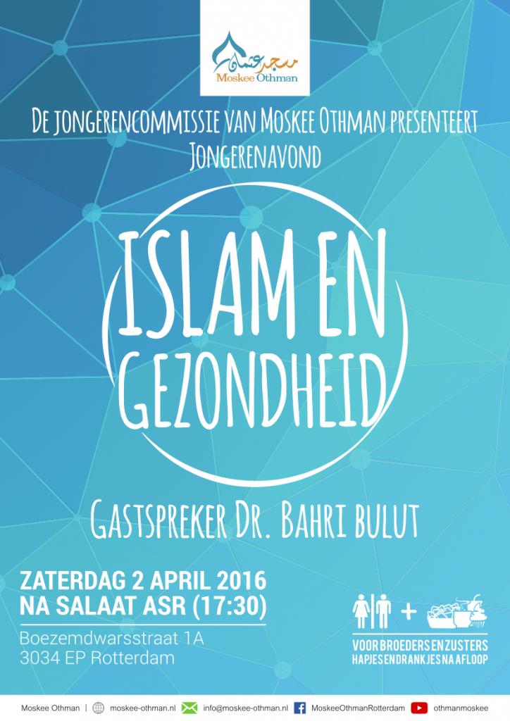 Jongerenavond - 04/2016 - Islam en gezondheid