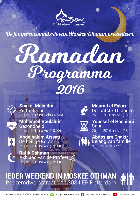 Ramadan Programma 2016