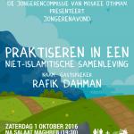 Jongerenavond - Praktiseren in een niet-Islamitische samenleving