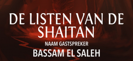 Jongerenavond – De listen van de shaitan